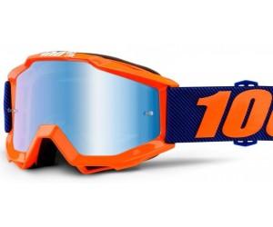 Мото очки 100% ACCURI Goggle - Mirror Red, Gold, Blue Lens фото, купить, киев, запорожье
