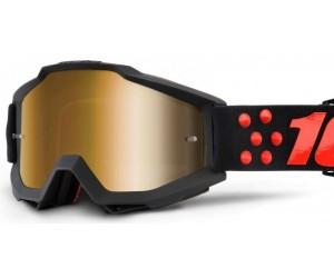 Маска 100% ACCURI Goggle - Mirror Silver Lens