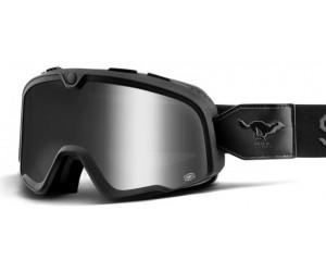 Мото очки 100% BARSTOW Goggle Solitario - Silver Lens фото, купить, киев, запорожье