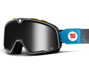 Мото очки 100% BARSTOW Goggle Deus 17 - SIlver Mirror Lens фото, купить, киев, запорожье