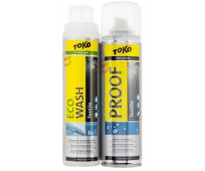 Пропитка и стирка TOKO DUO-PACK TEXTILE PROOF & ECO TEXTILE WASH фото, купить, киев, запорожье