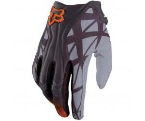Мото перчатки FOX FLEXAIR серо-оранжевые фото, купить, киев, запорожье