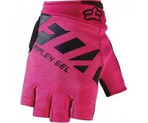 Вело перчатки FOX WOMENS RIPLEY GEL SHORT GLOVE [BLK/PNK] фото, купить, киев, запорожье