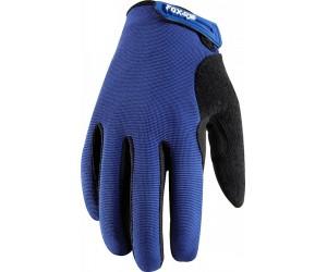 Вело перчатки FOX Incline Glove синие фото, купить, киев, запорожье