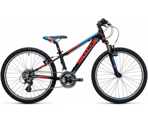 Детский велосипед Cube Kid 240 (black flashred blue) 2017 год фото, купить, киев, запорожье