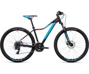 Велосипед Cube Access WLS Disc (black blue) 2017 год фото, купить, киев, запорожье