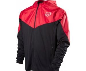 Вело куртка FOX Diffuse Jacket черно/красная фото, купить, киев, запорожье