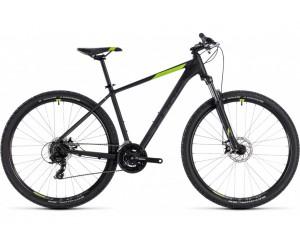 Велосипед Cube Aim 29 (black´n´green) 2018 года фото, купить, киев, запорожье