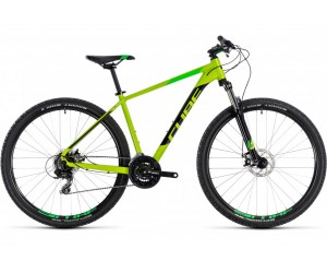 Велосипед Cube Aim 27.5 (kiwi´n´black) 2018 года фото, купить, киев, запорожье