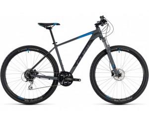 Велосипед Cube Aim Race 27.5 (grey´n´blue) 2018 года фото, купить, киев, запорожье
