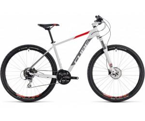 Велосипед Cube Aim Race 27.5 (white´n´red) 2018 года фото, купить, киев, запорожье