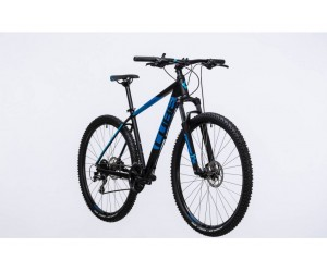 Велосипед Cube Aim Race 27.5 (black blue) 2017 года