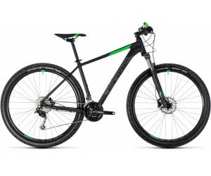 Велосипед Cube Aim SL 29 (black´n´flashgreen) 2018 года фото, купить, киев, запорожье