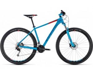 Велосипед Cube Aim SL 29 (blue´n´red) 2018 года фото, купить, киев, запорожье