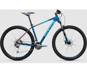 Велосипед Cube Analog 27.5 (blue flashorange) 2017 года фото, купить, киев, запорожье