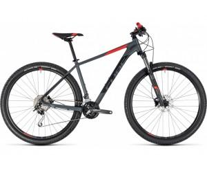 Велосипед Cube ANALOG 29 (grey´n´red) 2018 года фото, купить, киев, запорожье