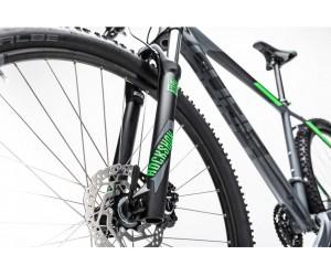 Велосипед Cube Analog 27.5 (darkgrey green) 2017 года