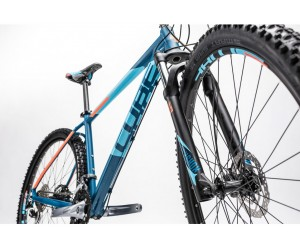 Велосипед Cube Analog 27.5 (blue flashorange) 2017 года