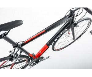 Велосипед Cube Attain Race (black red) 2017
