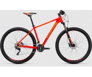Велосипед Cube Attention 27.5 (red flashorange) 2017 года фото, купить, киев, запорожье