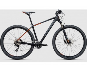 Велосипед Cube Attention SL 27.5 (black flahorange) 2017 года фото, купить, украина