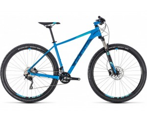 Велосипед Cube ATTENTION SL 27.5 (aqua´n´blue) 2018 года