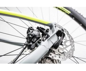 Велосипед Cube Attention SL 27.5 (grey´n´flashyellow) 2017 года