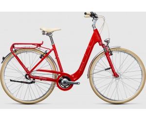 Женский велосипед Cube Elly Cruise (red´n´white) 2017 фото, купить, киев, запорожье