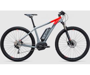 Велосипед Cube Reaction Hybrid HPA Pro 500 (grey´n´flashred) 2017 год фото, купить, киев, запорожье