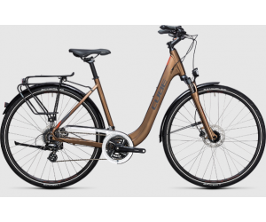 Велосипед Cube Touring Pro havanna (brown´n´orange) 2017 фото, купить, киев, запорожье