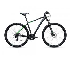 Велосипед Cube Aim Pro 27.5 (black-green) 2017 года фото, купить, киев, запорожье