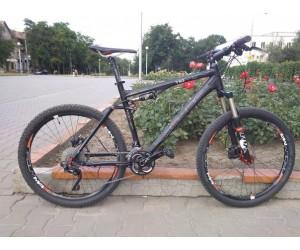 Велосипед двухподвес CUBE AMS 110 RACE black 2013 года фото, купить, киев, запорожье
