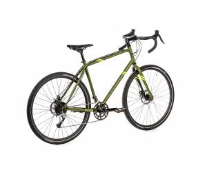 Велосипед 28 Pride Rocx Tour хаки/лайм (2018 год)