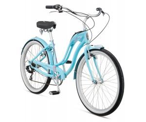 Велосипед 26 Schwinn Hollywood Women 2017 blue фото, купить, киев, запорожье