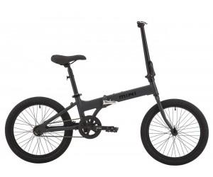 Велосипед 20 Pride MINI 1 темно-серый/черный 2018 год фото, купить, киев, запорожье