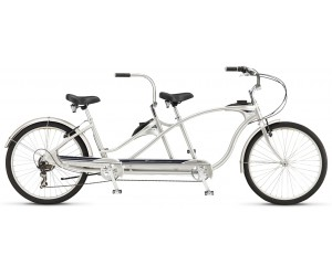 Велосипед 26 Schwinn Tango Tandem 2017 silver фото, купить, киев, запорожье