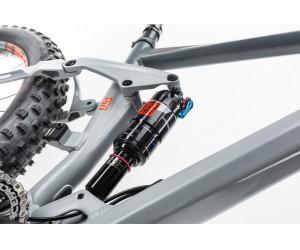 Велосипед CUBE STEREO 150 HPA Race 27.5+ (grey´n´flashred) 2017 год