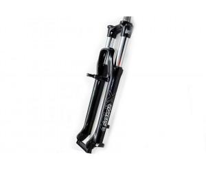 Вилка Suntour XCM 100мм 26 пруж Disc/V-brake (черн) фото, купить, киев, запорожье