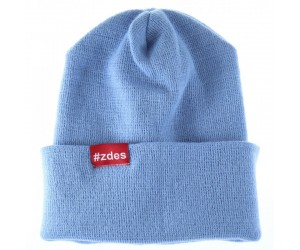 Шапка ZDES Basic (Light Blue)