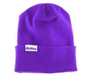 Шапка ZDES Basic (Purple)