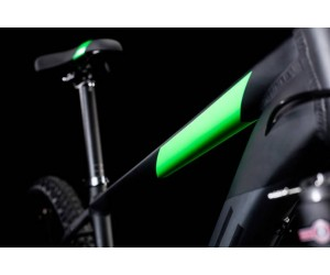 Велосипед Cube Aim SL 27.5 (black´n´flashgreen) 2018 года