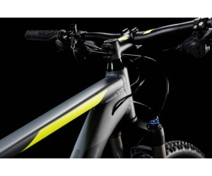 Велосипед Cube ATTENTION SL 27.5 (grey´n´flashyellow) 2018 года