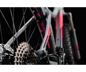 Велосипед Cube ACCESS WS RACE 27.5 (grey´n´berry) 2018 года