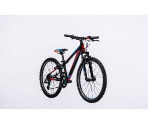 Детский велосипед Cube Kid 240 (black flashred blue) 2017 год