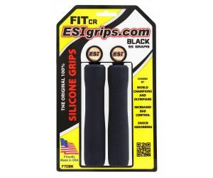 Грипсы ESI Fit CR Black (черные) фото, купить, киев, запорожье