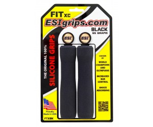 Грипсы ESI Fit XC Black (черные)
