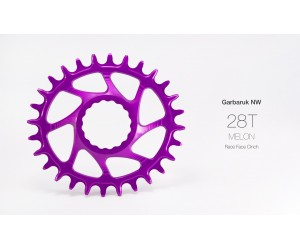 Звезда Garbaruk овал (MELON) Direct Mount Race Face Cinch (BOOST) фото, купить, киев, запорожье