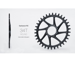 Звезда Garbaruk круг (ROUND) Direct Mount Cannondale Hollowgram фото, купить, киев, запорожье