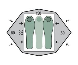Палатка Pinguin Gemini 150