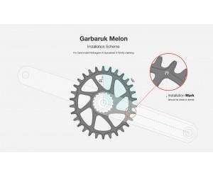 Звезда Garbaruk овал (MELON) Direct Mount SRAM BB30 (Short Spindle)